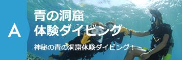 大人気!体験ダイビング 神秘の青の洞窟やお魚とも触れ合える体験プラン!